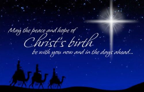 Merry Christmas from Thunder Outreach and Heaven's Thunder ... Merry Christmas Christ Is Born